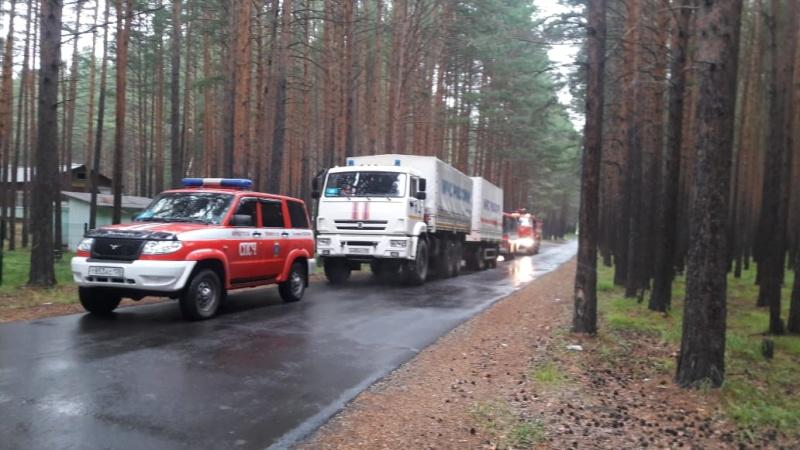 Оперативные группы дежурят в районах Иркутской области, подверженных риску паводка из-за подъёма уровня рек
