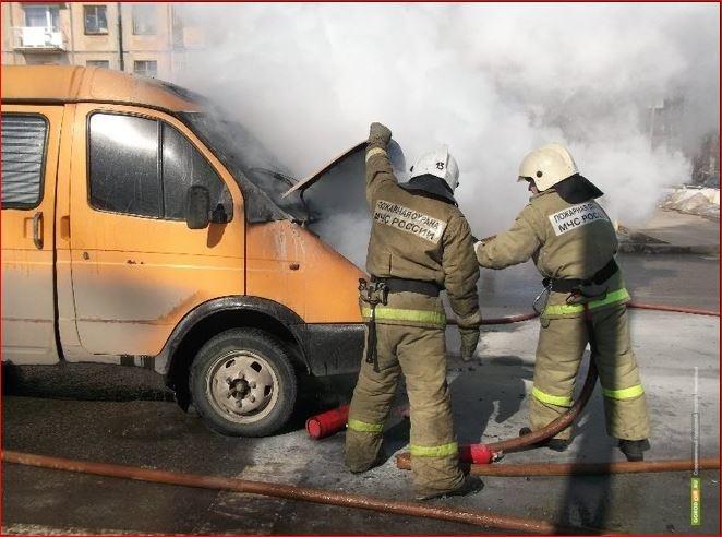 Спасатели ликвидировали пожар в Пушкинском районе