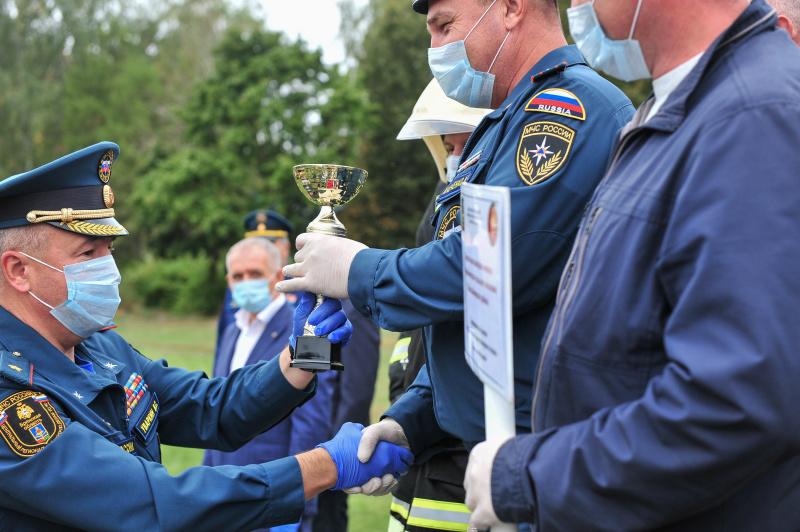 В Брянской области выбрали лучшую добровольную пожарную команду