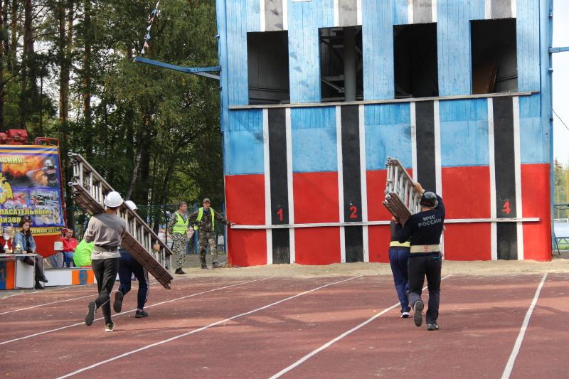 Стартовал Чемпионат Калужской области по пожарно-спасательному спорту