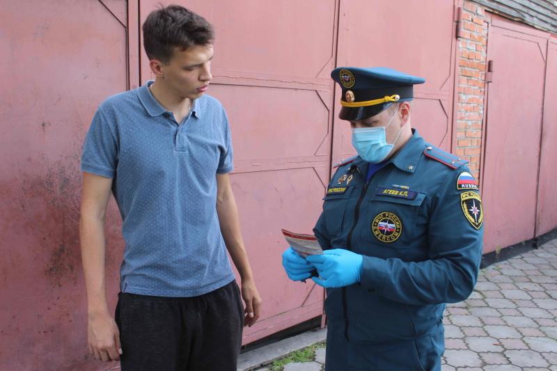 В Томской области проходят противопожарные рейды