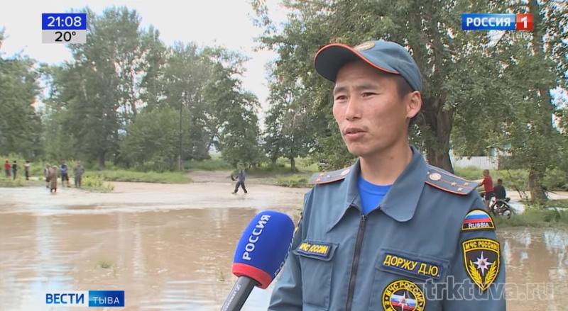 Эвакуация населенных пунктов из-за паводков.