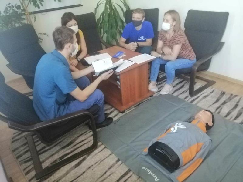 Команды Главного управления МЧС России по Ставропольскому краю готовятся к финалу Всероссийских соревнований «Человеческий фактор»