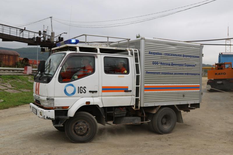 Второй этап комплексного командно-штабного учения завершился в Южно-Сахалинске