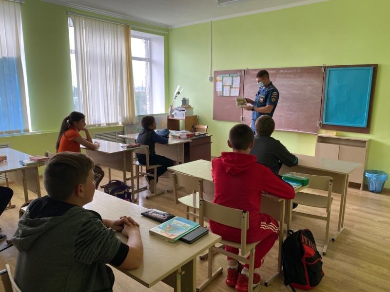 """Открытые уроки по """"Основам безопасности жизнедеятельности"""" для школьников"""