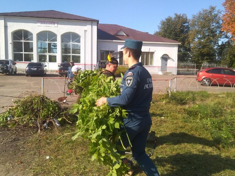 В Брянской области продолжается профилактический месячник «Сухая трава»