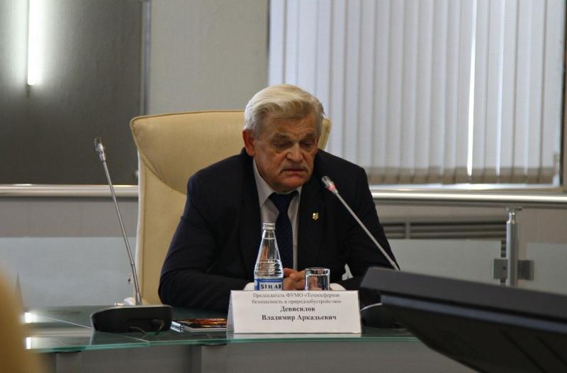 В СПБ УГПС МЧС России прошло заседание федерального учебно-методического объединения