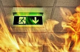 Правила поведения: пожар в общественном    месте, офисе
