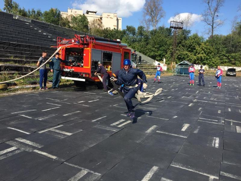 В Хабаровске прошли краевые соревнования по пожарно-спасательному спорту