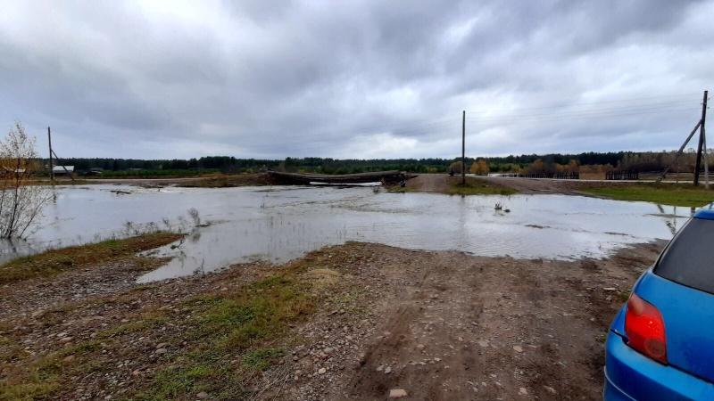 В поселке Усть-Кадуй Нижнеудинского района Иркутской области наблюдается стабилизация гидрологической обстановки