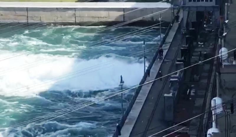 С сегодняшнего дня вновь изменен режим работы Иркутского гидроузла