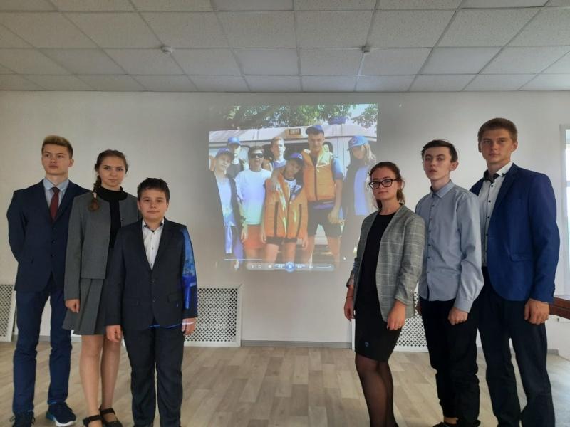 Команда Брянской области приняла участие в полевом лагере «Юный водник»
