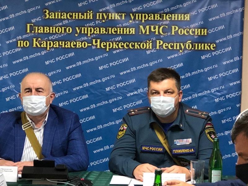 В Карачаево-Черкесии проходит тренировка по гражданской обороне