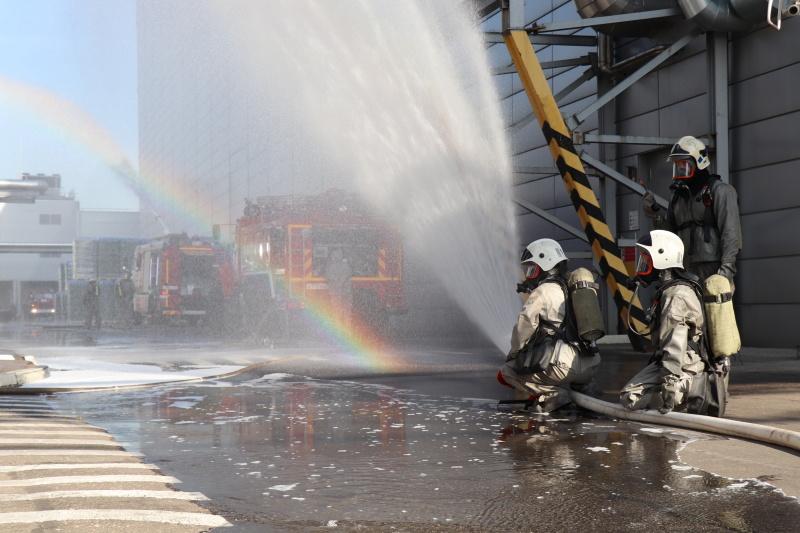 В Нижнем Новгороде состоялись пожарно-тактические учения на  заводе