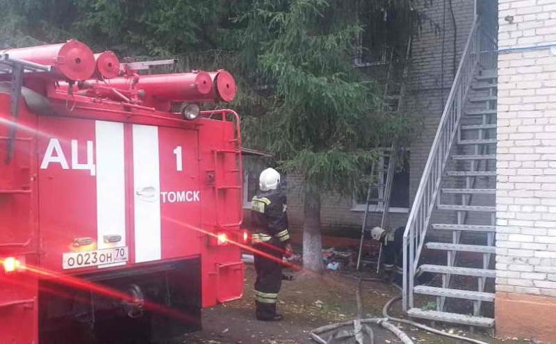 Сотрудники МЧС оперативно ликвидировали пожар в детском саду