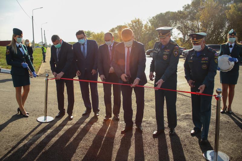 Николай Гречушкин открыл новую специализированную пожарно-спасательную часть в Брянске