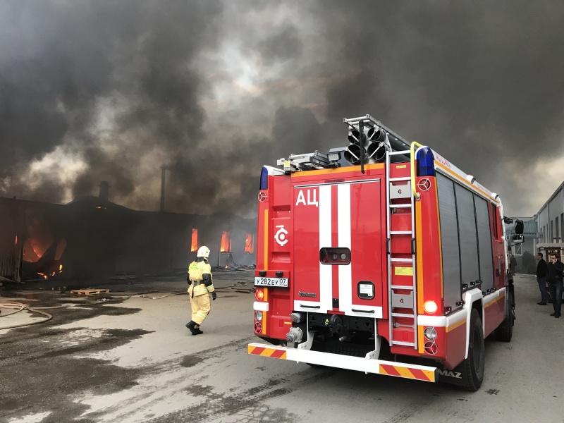 Пожар в г. Чегем