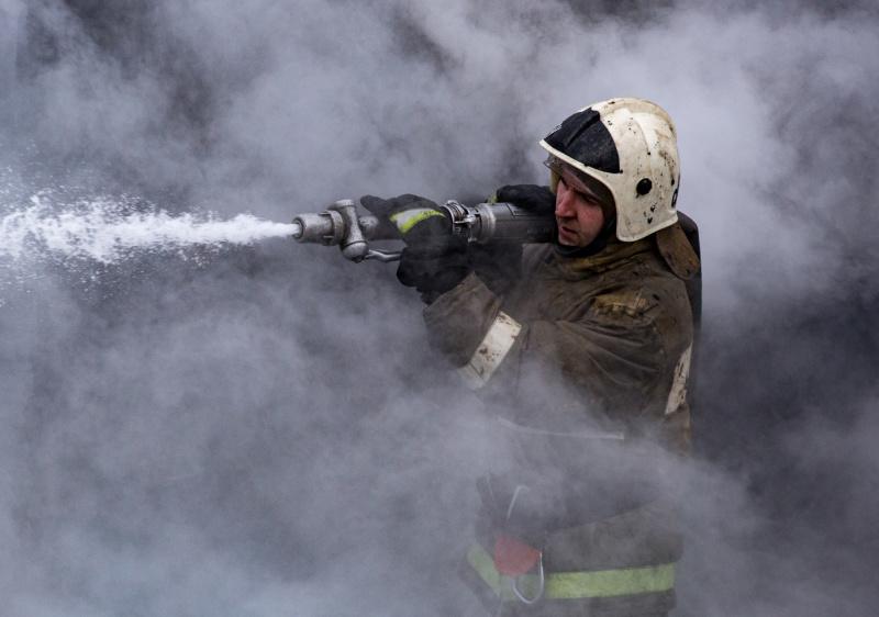 В д. Новокиевка Куйбышевского района потушили летнюю дойку