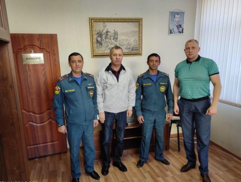Представители казачества будут на страже пожарной безопасности