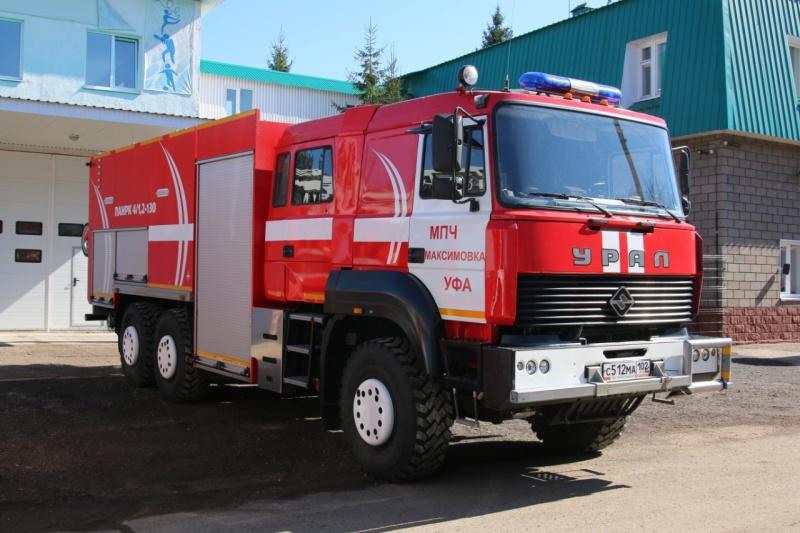 Техника МЧС России: ПАНРК – Пожарный автомобиль с цистерной, насосно-рукавный, комбинированный