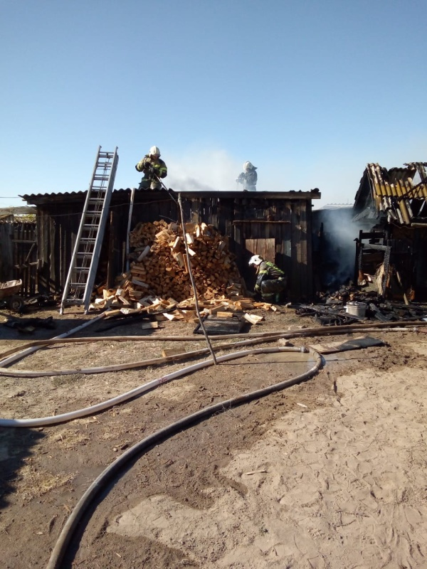Информация о пожарах, произошедших на территории Астраханской области по состоянию на 07.00 09.10.2020