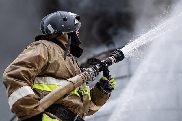 Пожар в г. Стрежевой Александровского района