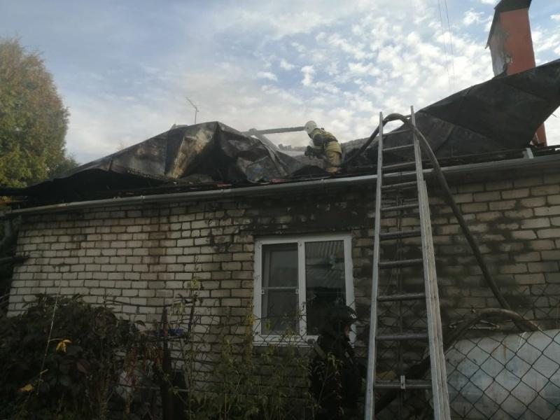 Пожарно-спасательные подразделения ликвидировали пожар в г.о. г. н.Новгород