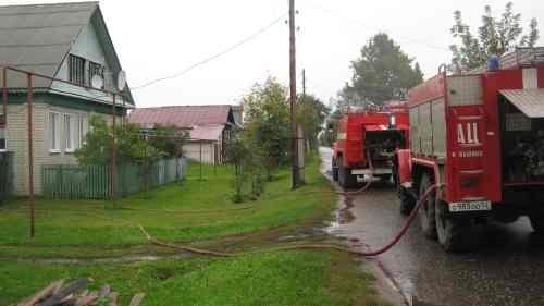 Пожарно-спасательные подразделения ликвидируют пожар в г.о. г. н.Новгород