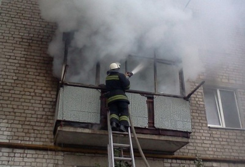 Пожар в г. Асино Асиновского района