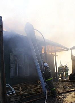 Пожар в муниципальном образовании Усть-Абаканский район
