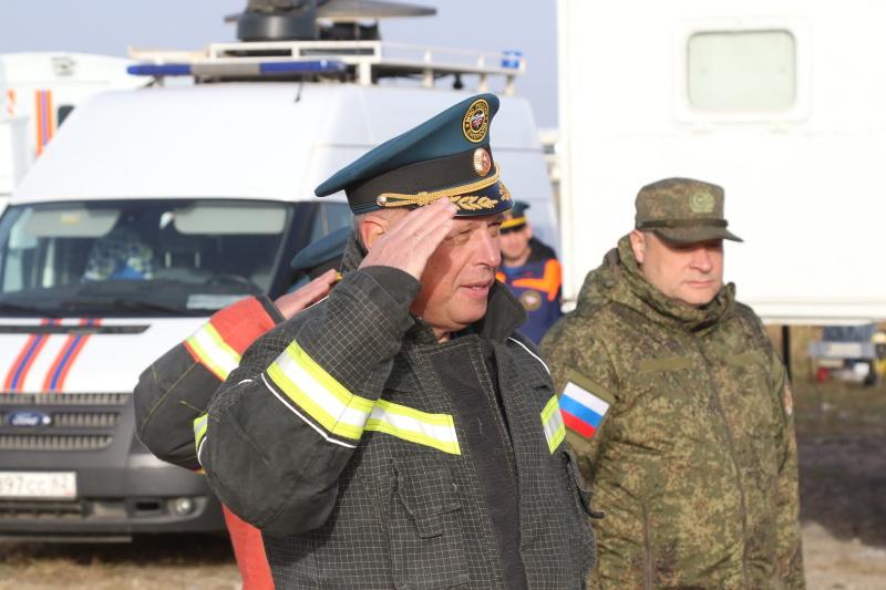 В Рязанской области ликвидированы пожары, произошедшие из-за взрыва боеприпасов