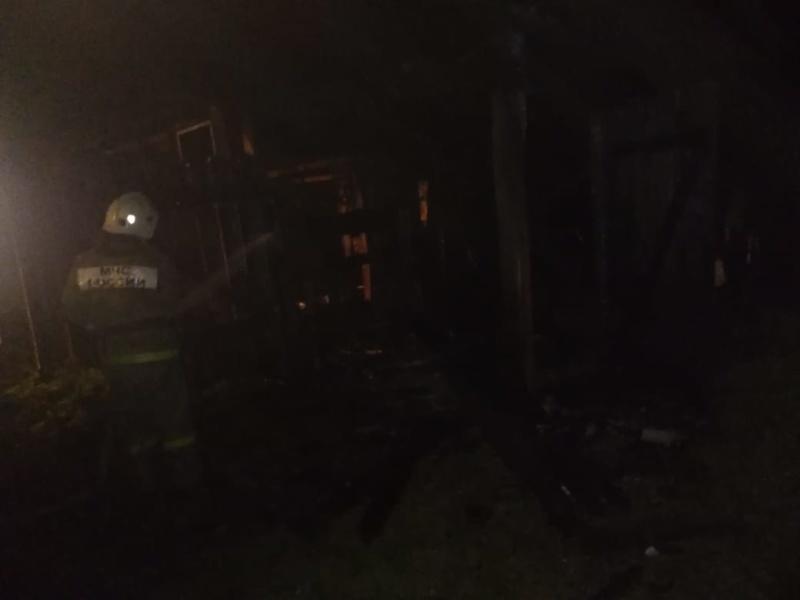 Информация о выезде пожарных подразделений в Клинцовском районе