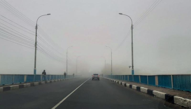 Осторожно: на дорогах туман!