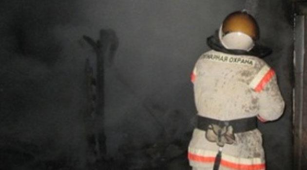 Пожар в с. Баткат  Шегарского района