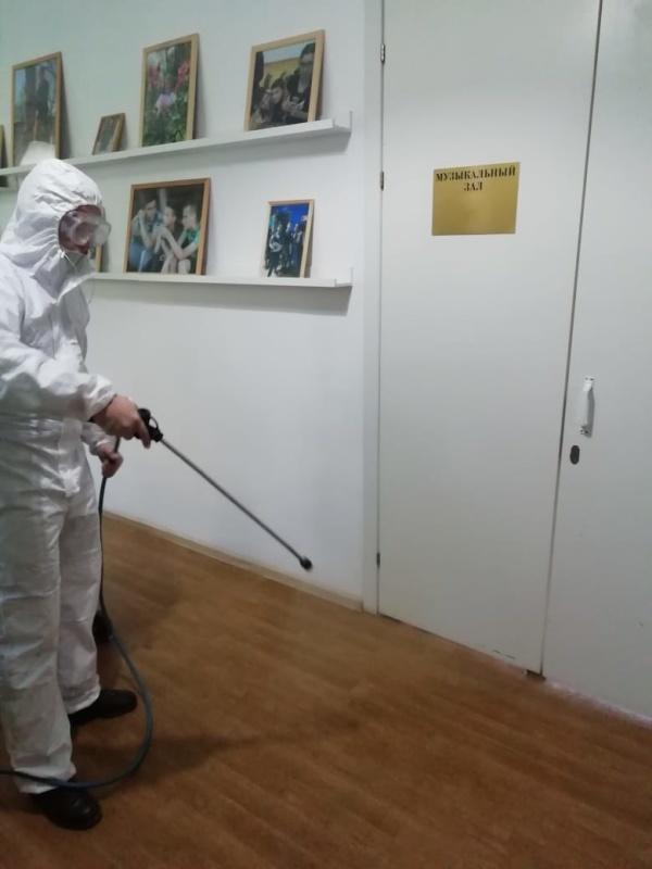В Ростове-на-Дону  продолжаются мероприятия по дезинфекции социально-значимых объектов