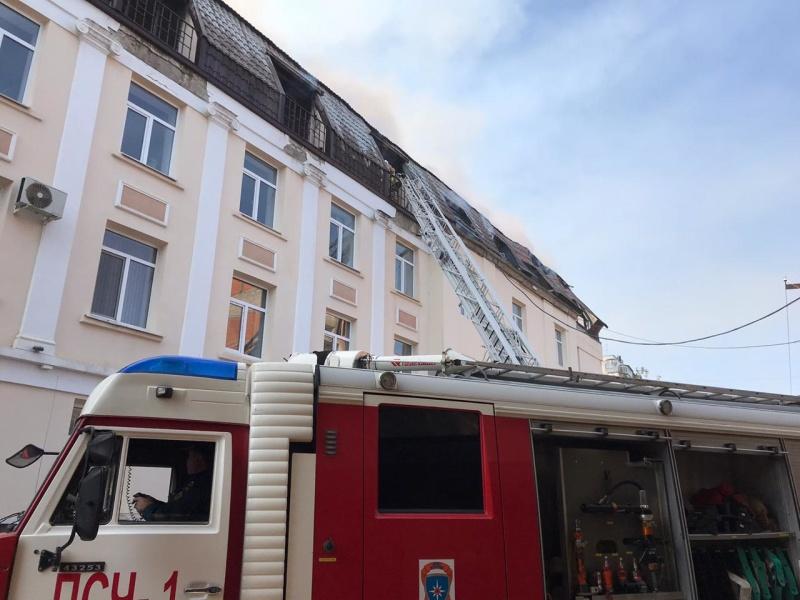Пожар в городе Нальчик (уточненная информация)