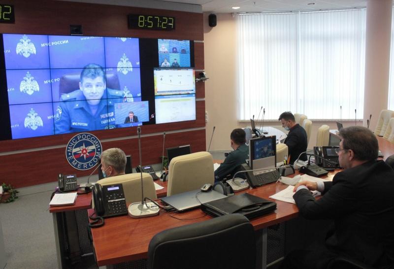Всероссийский сбор с начальниками учебно-методических центров ГОиЧС состоялся в МЧС России