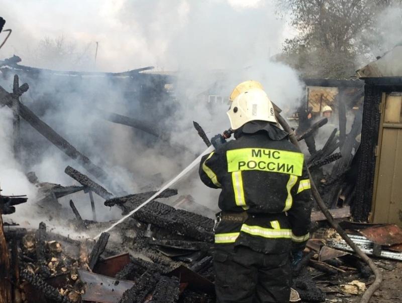 За минувшие  сутки белгородские  огнеборцы ликвидировали 4 пожара