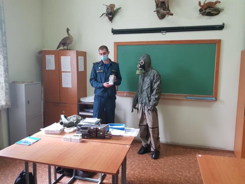В большей части учебных и дошкольных учреждений Хабаровского края прошли открытые уроки по безопасности жизнедеятельности