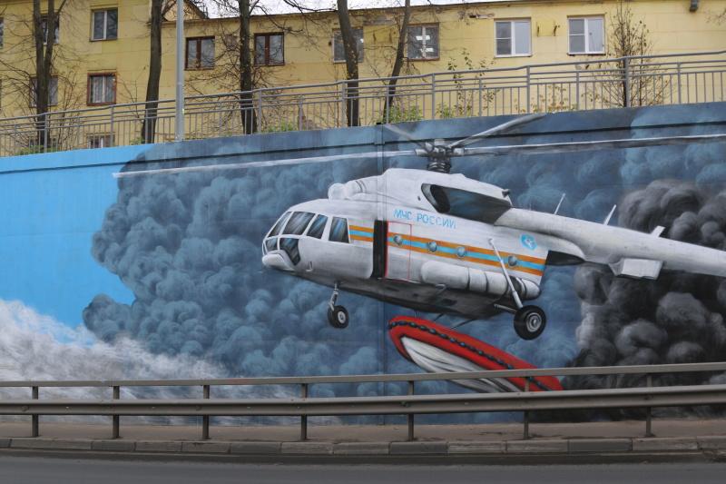 В Нижнем Новгороде появился арт-объект в честь пожарных и спасателей