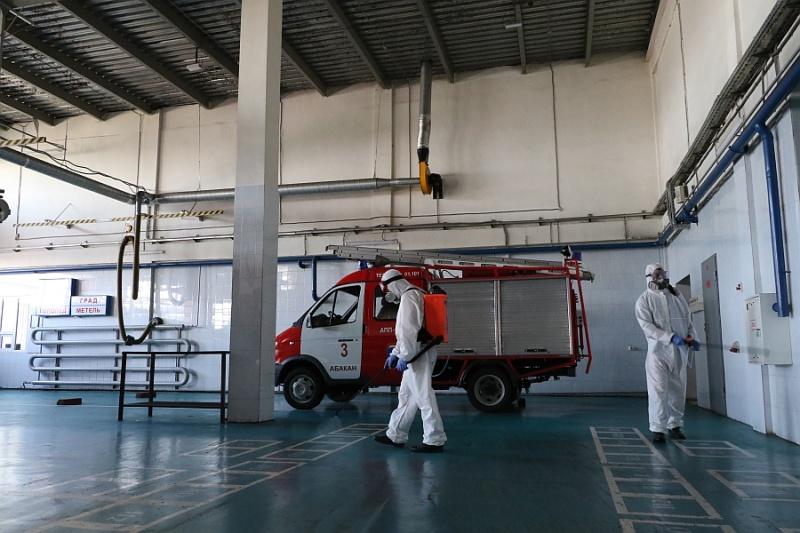 В подразделениях МЧС России продолжаются профилактические мероприятия по недопущению распространения вирусных инфекций