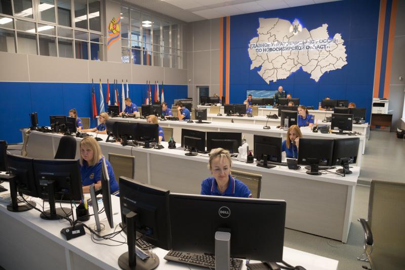 Центр управления в кризисных ситуациях Главного управления МЧС России по Новосибирской области признан лучшим в Сибири