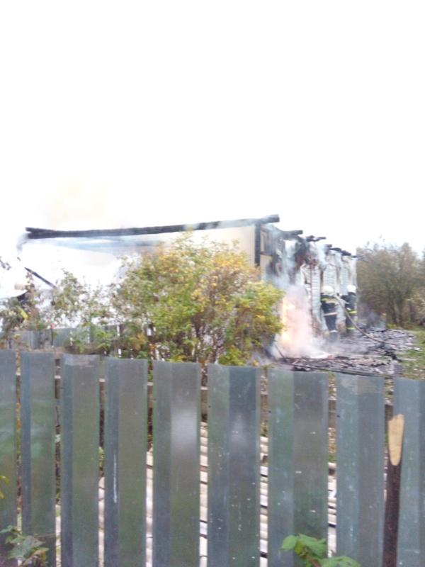 Уточненная информация о выезде пожарных подразделений в Рогнединском районе