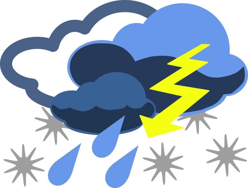Информационное сообщение о возможных неблагоприятных погодных явлениях