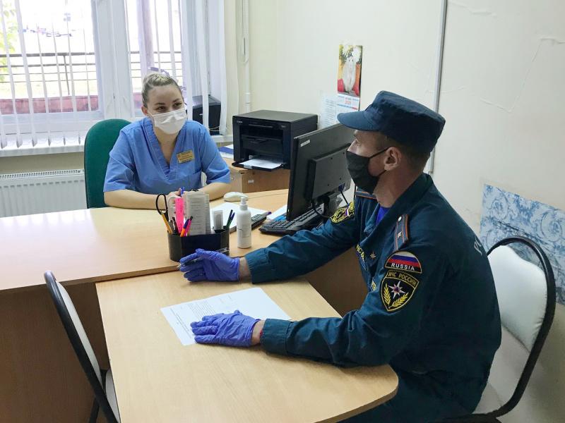 На социально-значимых объектах Почепского района продолжаются профилактические противопожарные мероприятия