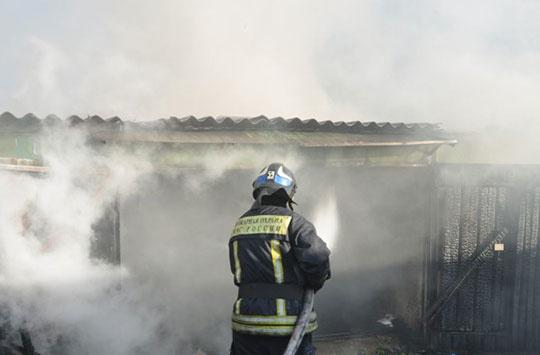 Пожар в с. Кожевниково Кожевниковского района