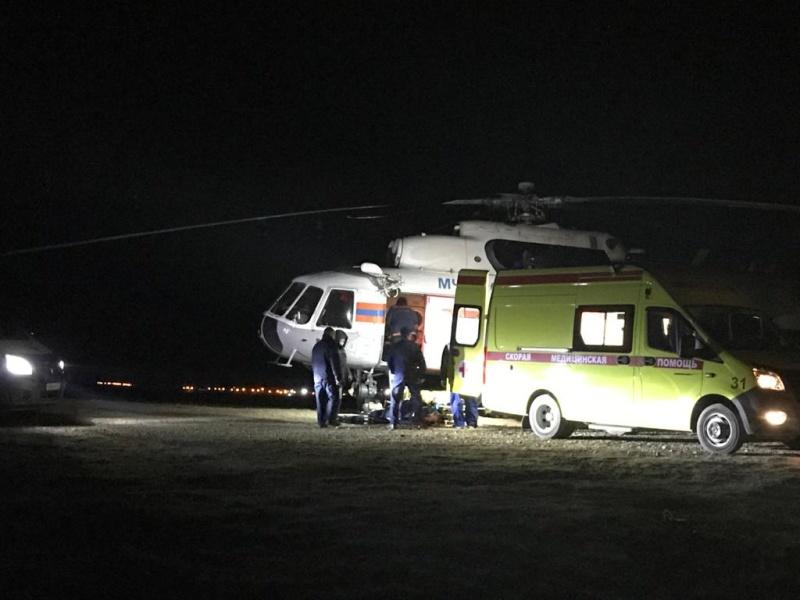 Два санитарных рейса выполнили хабаровские авиаторы МЧС России. В медицинские учреждения доставлено 6 человек