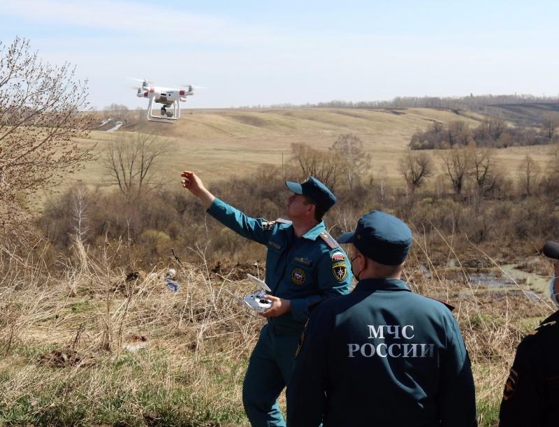 Беспилотники на службе МЧС России