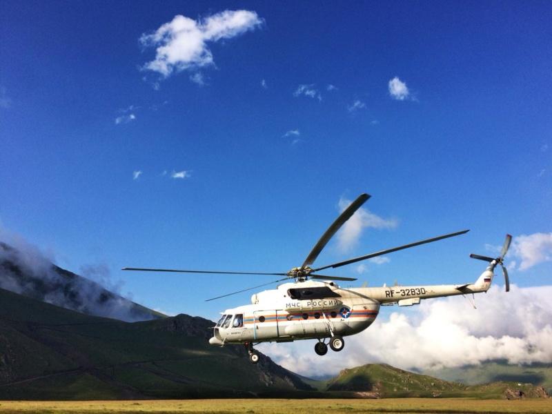 Поисково-спасательные работы на северном склоне Эльбруса