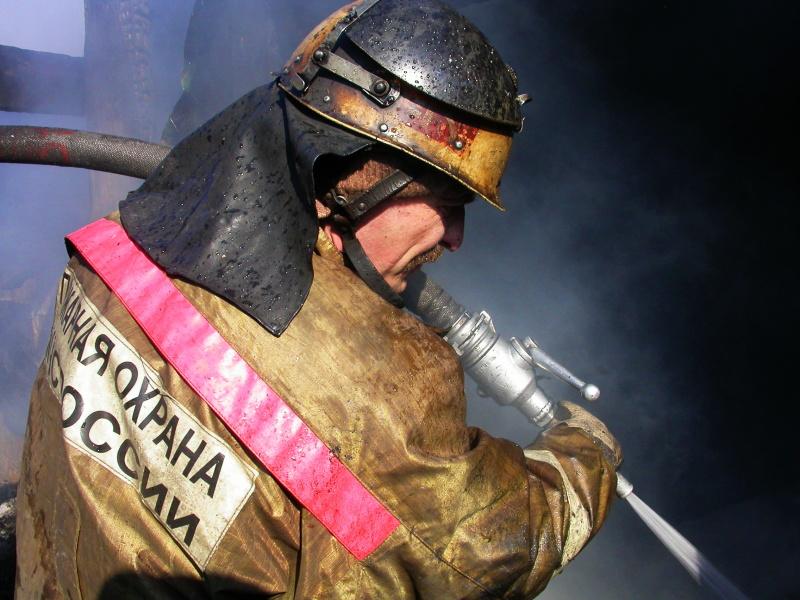 Пожар в Советском районе г.Томска